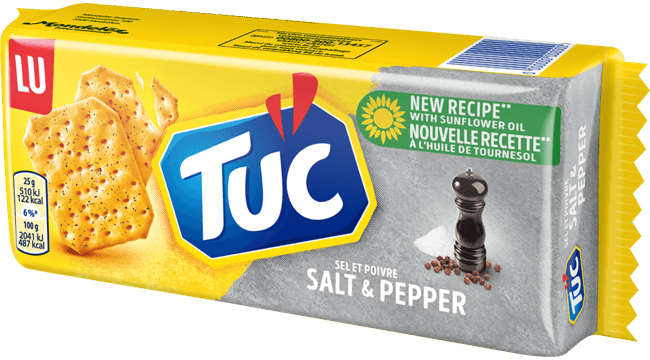 TUC Salt & Pepper 100g