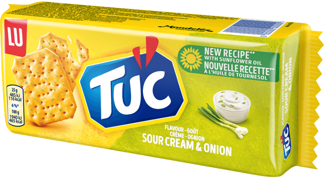 TUC Sour Cream & Onion 100g